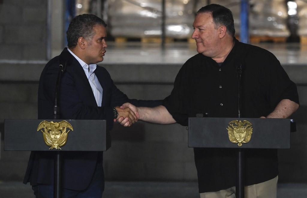Duque y Pompeo en Cúcuta