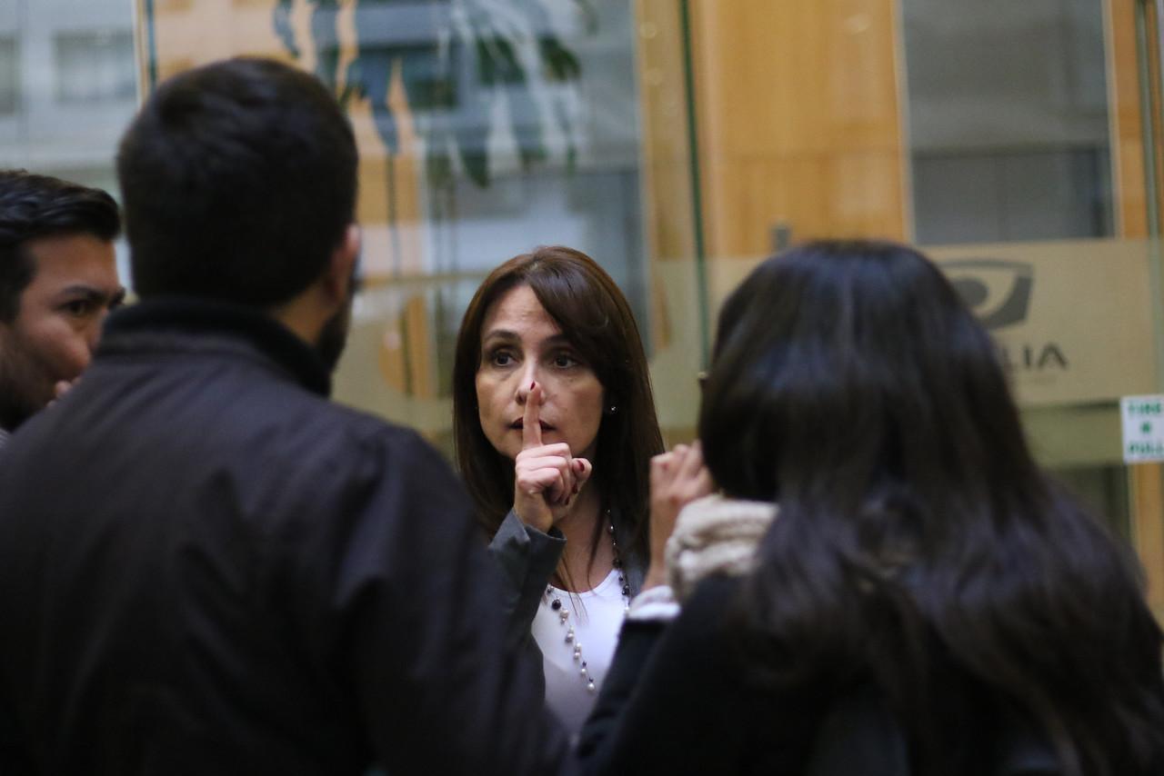 Marta Herrera, vocera de la Fiscalía   Agencia UNO