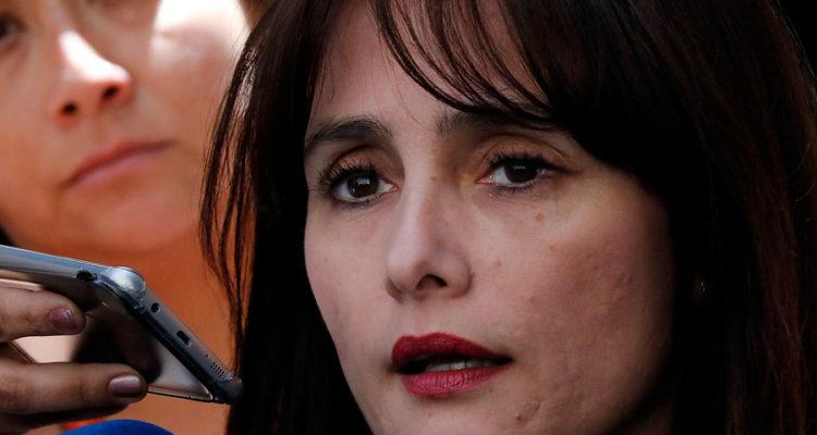 La vocera de la Fiscalía Nacional, Marta Herrera | Leonardo Rubilar | Agencia UNO