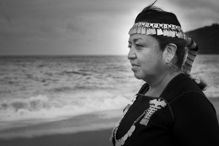 Graciela Huinao. Foto Alvaro de la Fuente/Proyecto Dialogo
