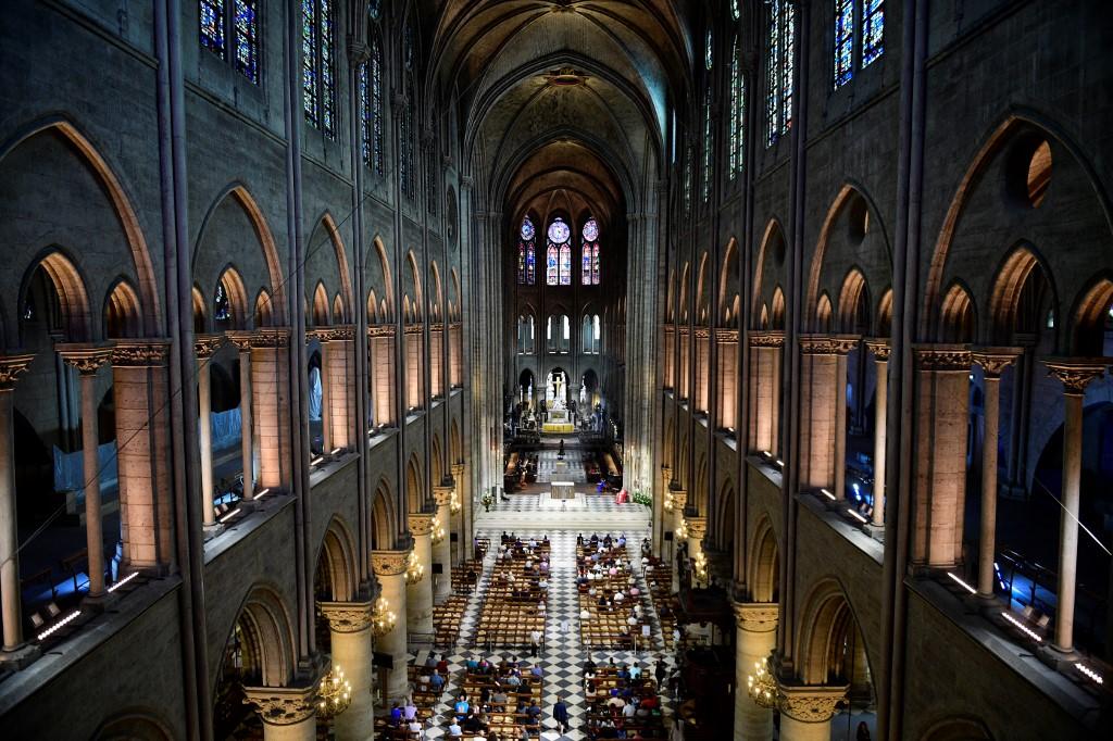Notre Dame en 2017   Agence France-Presse