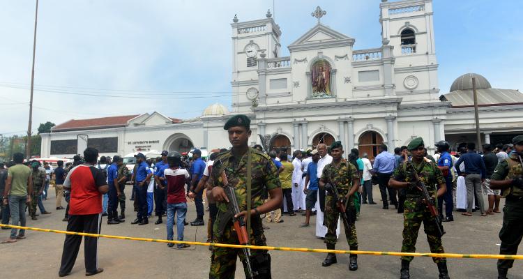 atentado sri lanka