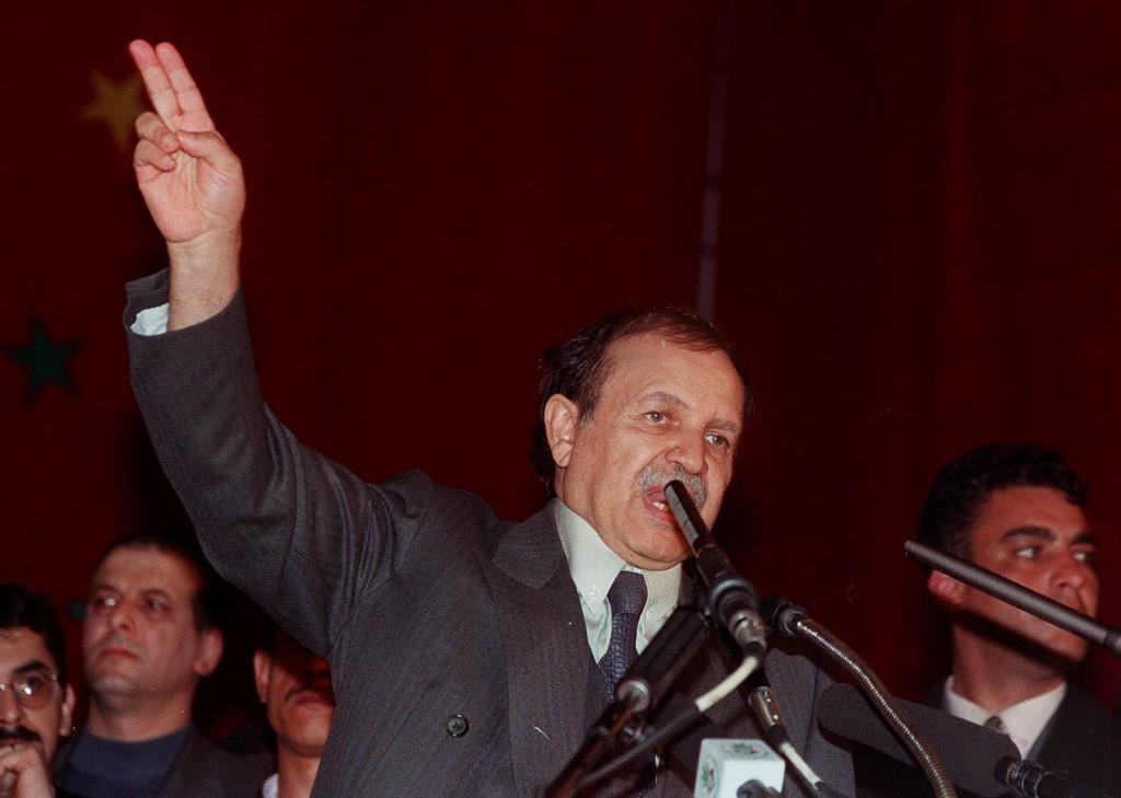 Abdelaziz Buteflika en 1999 | ARCHIVO | Agence France-Presse