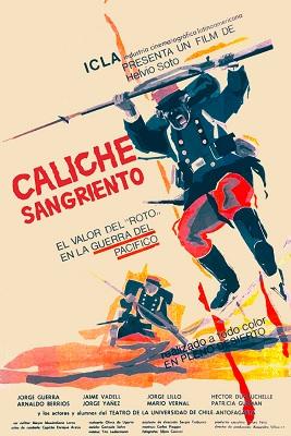 Afiche de Caliche sangriento, Cineteca Universidad de Chile (c)