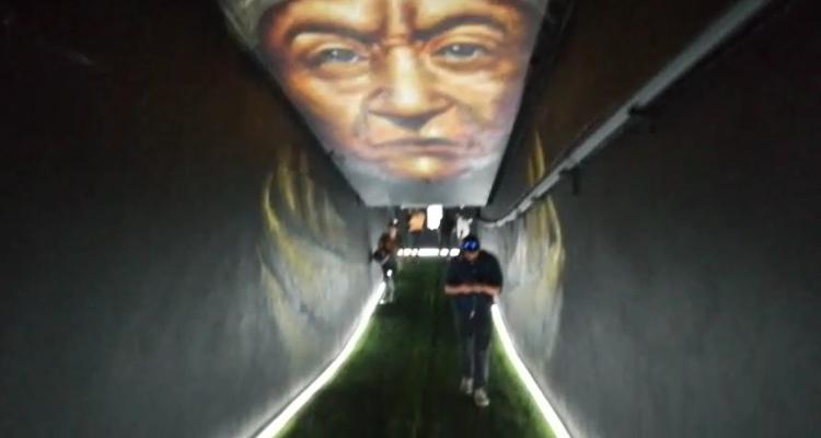 Colo Colo estrenó en su aniversario el nuevo túnel de campeones en el Estadio Monumental