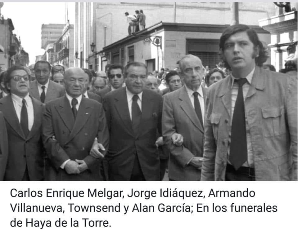 Twitter Alan García/ Funerales de Haya de la Torre