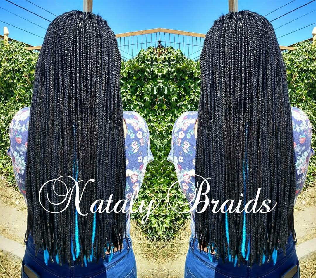 Trenzas con hilo | Nataly Braids