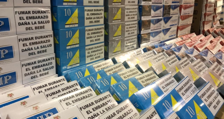 Cajetillas de cigarro