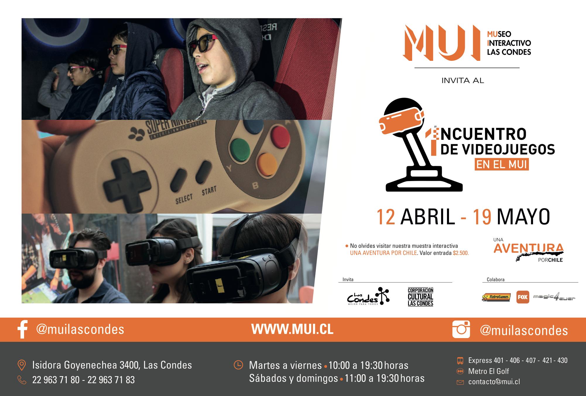 Resultado de imagen para 1er Encuentro de Videojuegos en el MUI