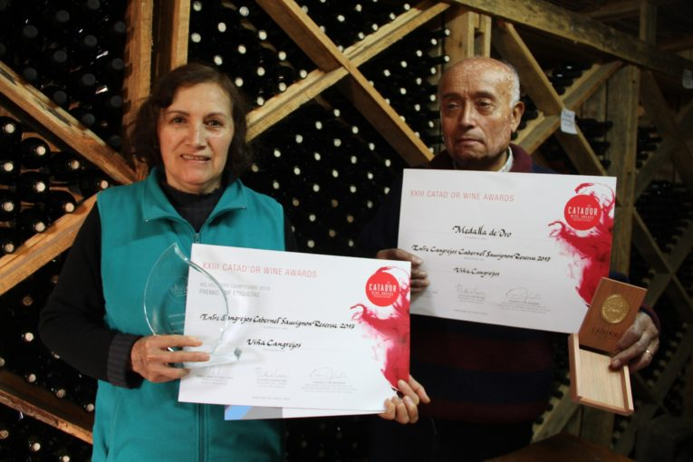 Jorge Cubillos y Maria Iris Navarro - Viña Cangrejos