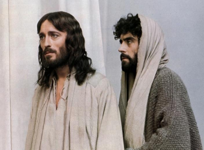 """Judas representado en el clásico """"Jesús de Nazareth"""""""