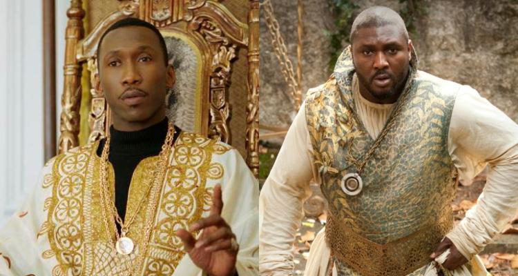 "Izquierda: Mahershala Ali | Derecha: Nonso Anozie como Xaro Xhoan Daxos en ""Game of Thrones"""