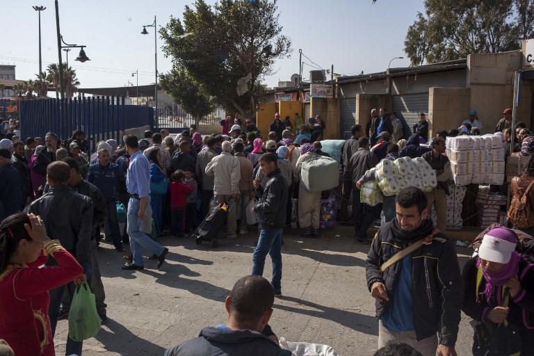 Migrantes en Ceuta | ARCHIVO | Agence France-Presse