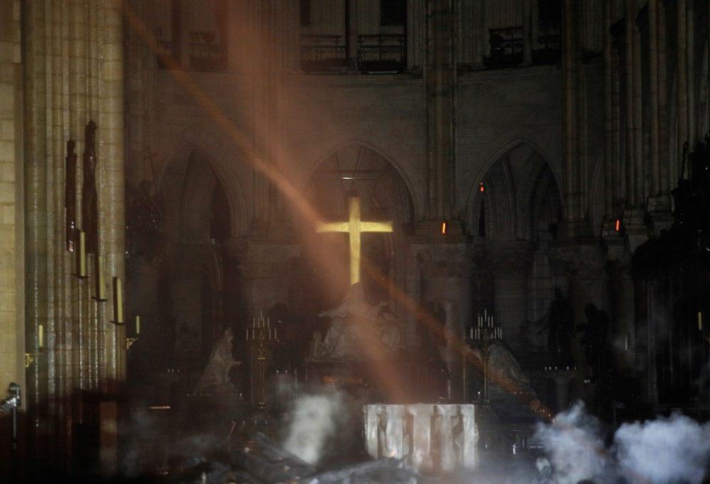 Interior de Notre Dame | Agence France-Presse