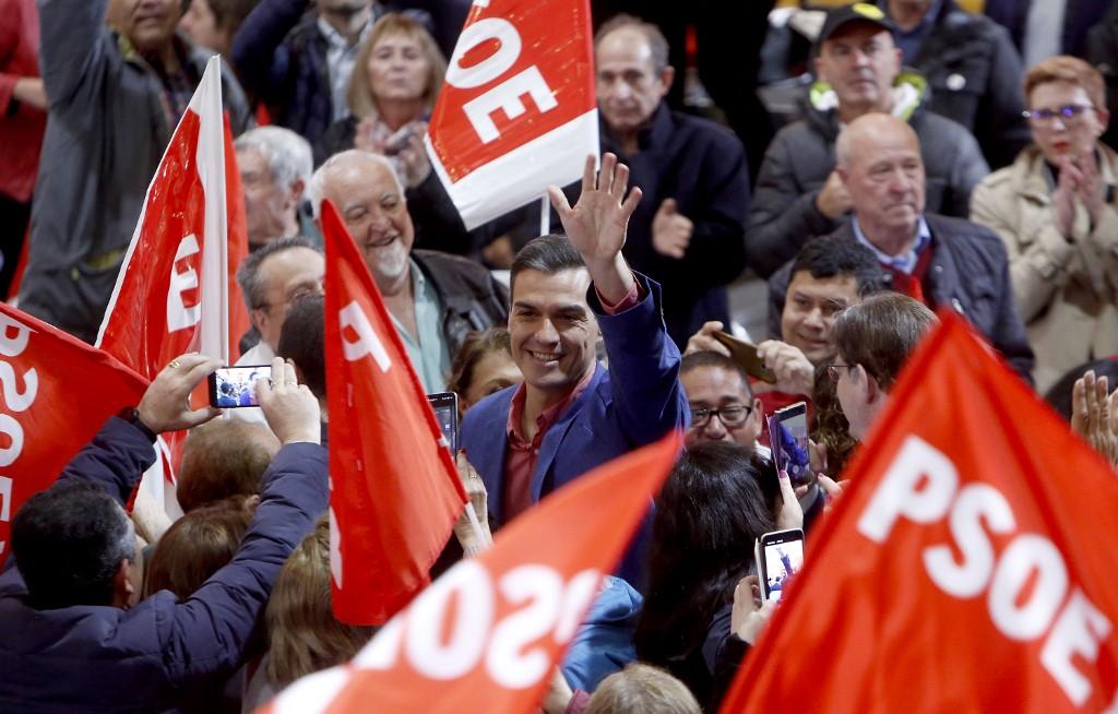 Pedro Sánchez, el político mejor evaluado por las encuestas en España | ARCHIVO | Agence France-Presse