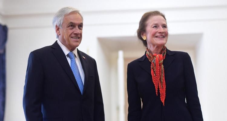 Sebastián Piñera junto a Henrietta H. Fore, Directora General de Unicef | Agencia UNO