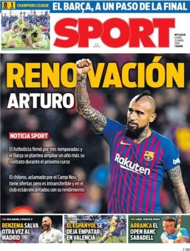 Captura de pantalla Diario Sport