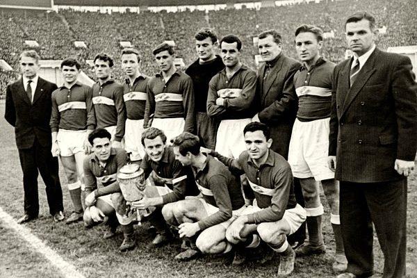 Selección Soviética. Extraída de Stop an Goal