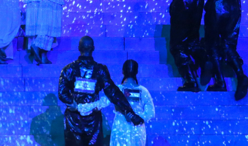 El momento de las banderas en el show de Madonna | Agence France-.Presse