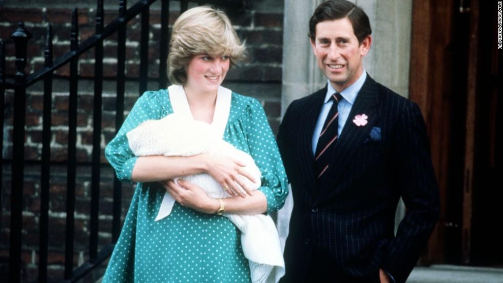 Diana, Carlos y William | Agence France-Presse