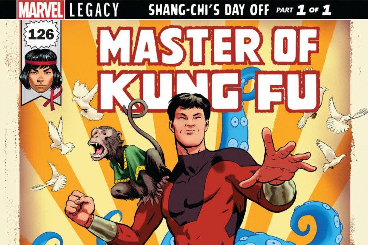 Shang Chi, el maestro del kung fu
