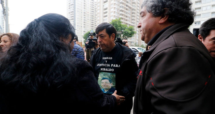 Familiares del profesor Nibaldo Villegas | Leonardo Rubilar | Agencia Uno