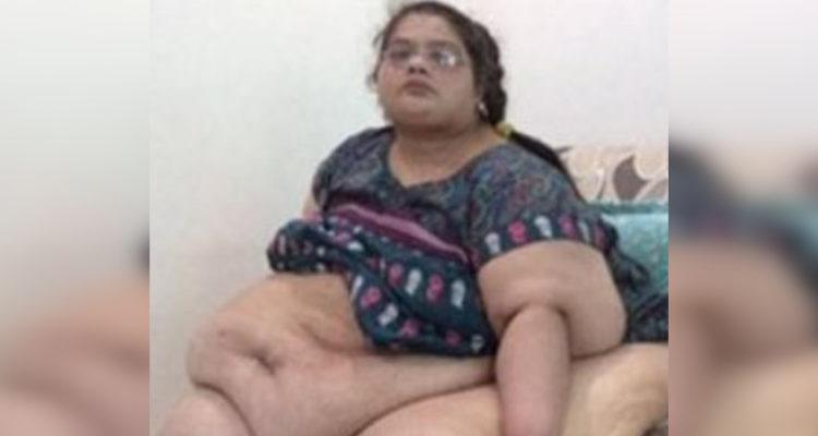 fe03592f0 Mujer más obesa de Asia pesó 298 kg y estuvo postrada por 8 años ...