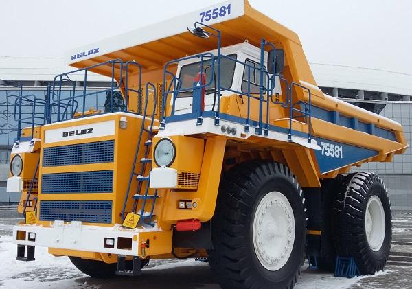 Belaz   camión 75581