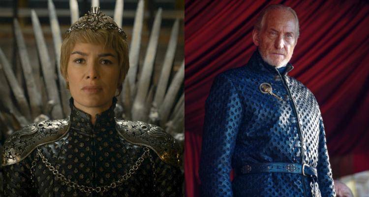 Izquierda: Cersei en la temporada 6; derecha: Tywin Lannister   Game of Thrones