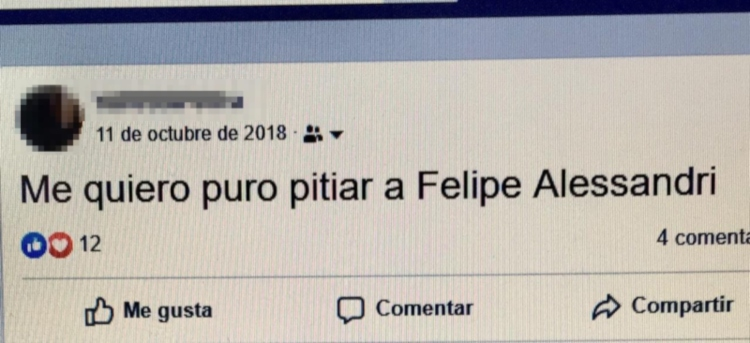 Publicación de Facebook