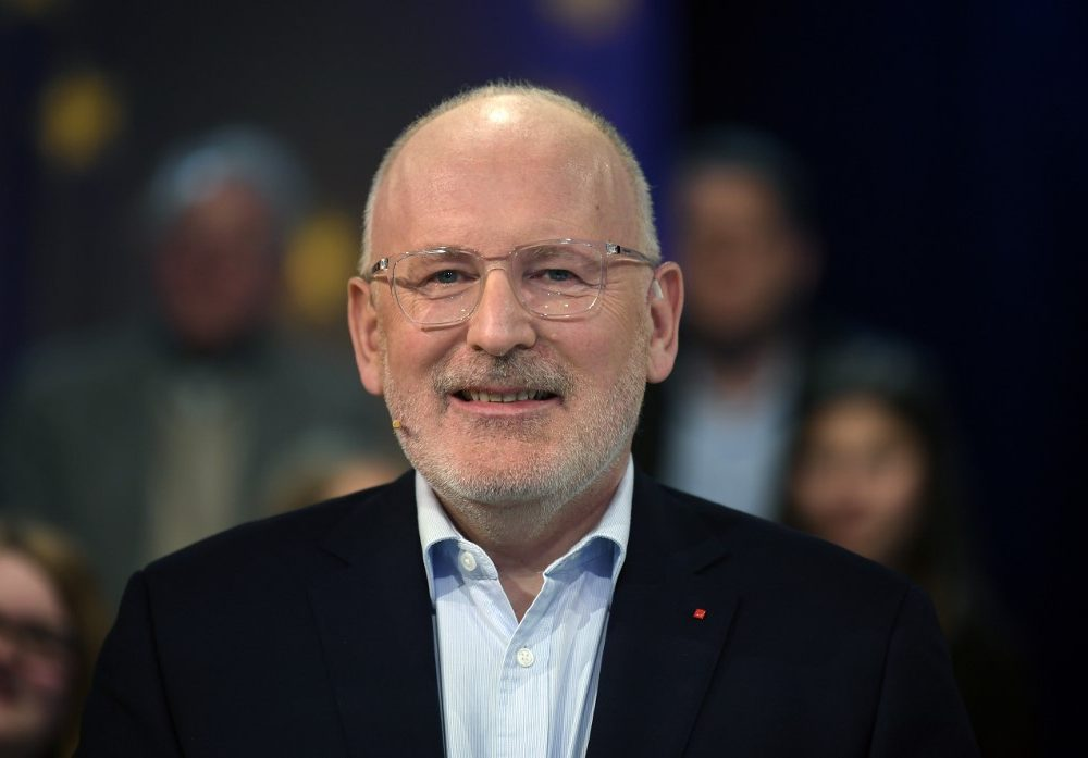 Frans Timmermans   Agence France-Presse