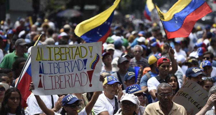 Movilizaciones en Caracas | Agence France-Presse