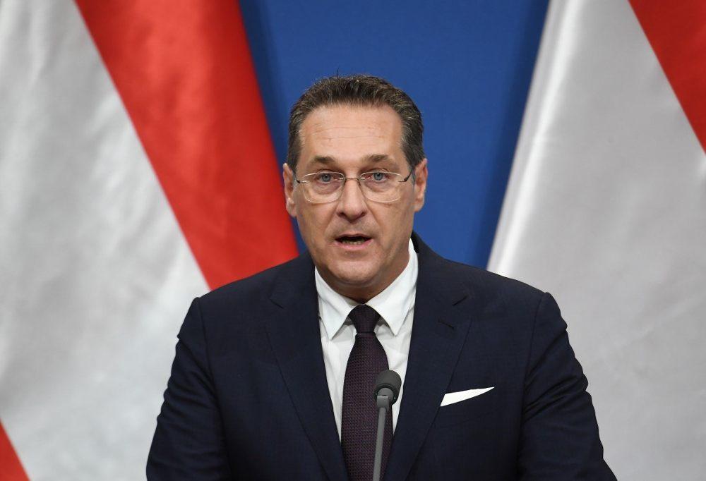 Heinz-Christian Strache , líder de la ultraderecha en Austria | Agence France-Presse