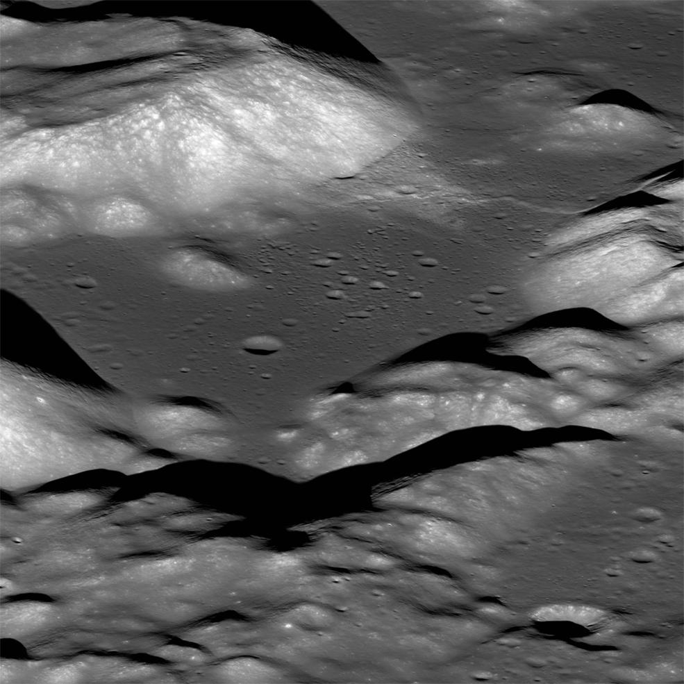 El valle de Taurus-Littrow   NASA