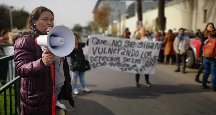 Manifestación en la Ex Penitenciaría
