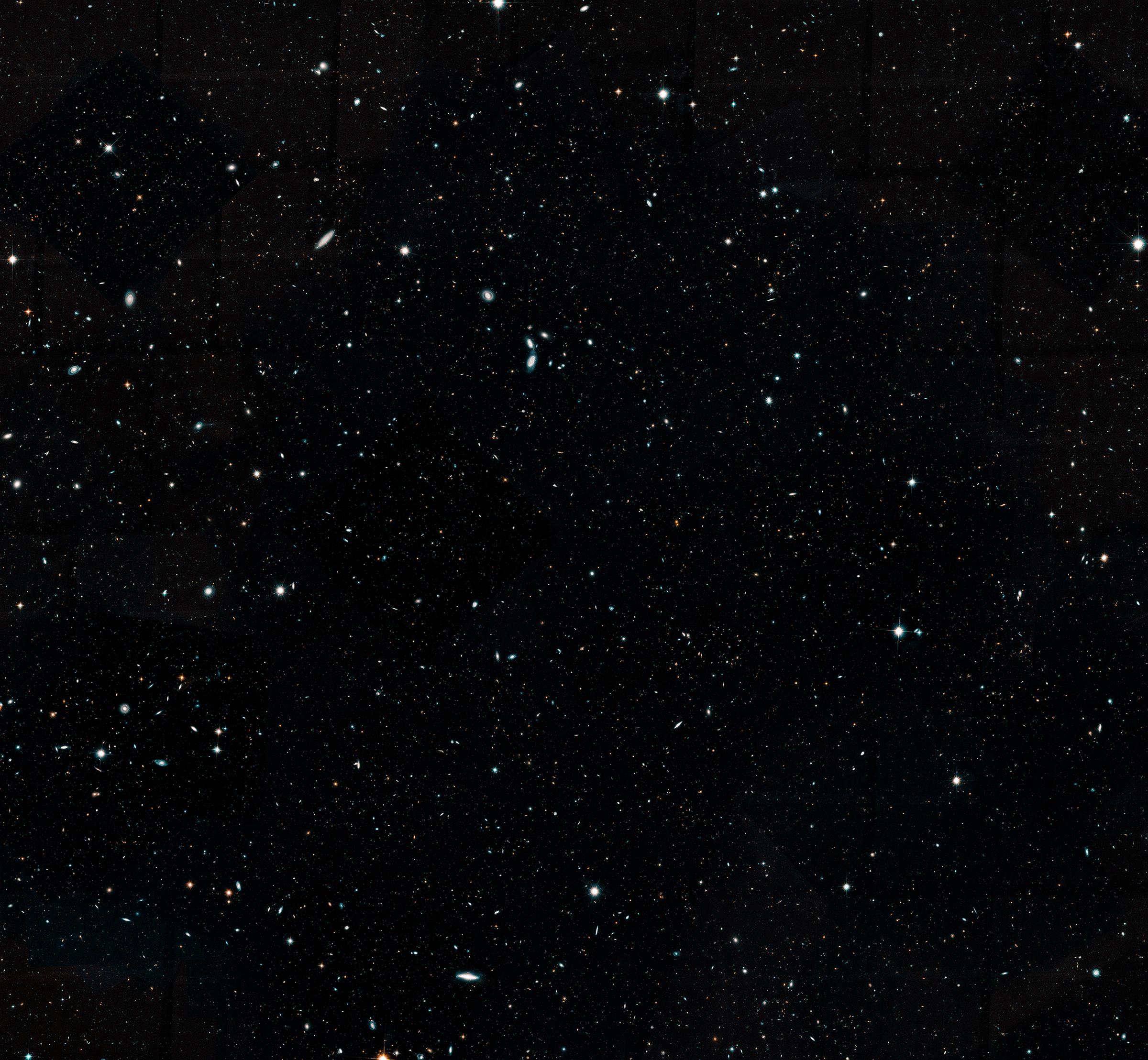 Imagen tomada por el satélite espacial | Hubble