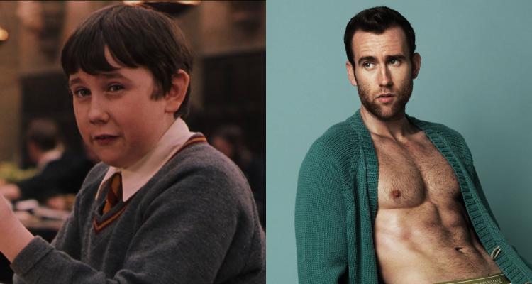 Matthew Lewis de niño vs. de adulto