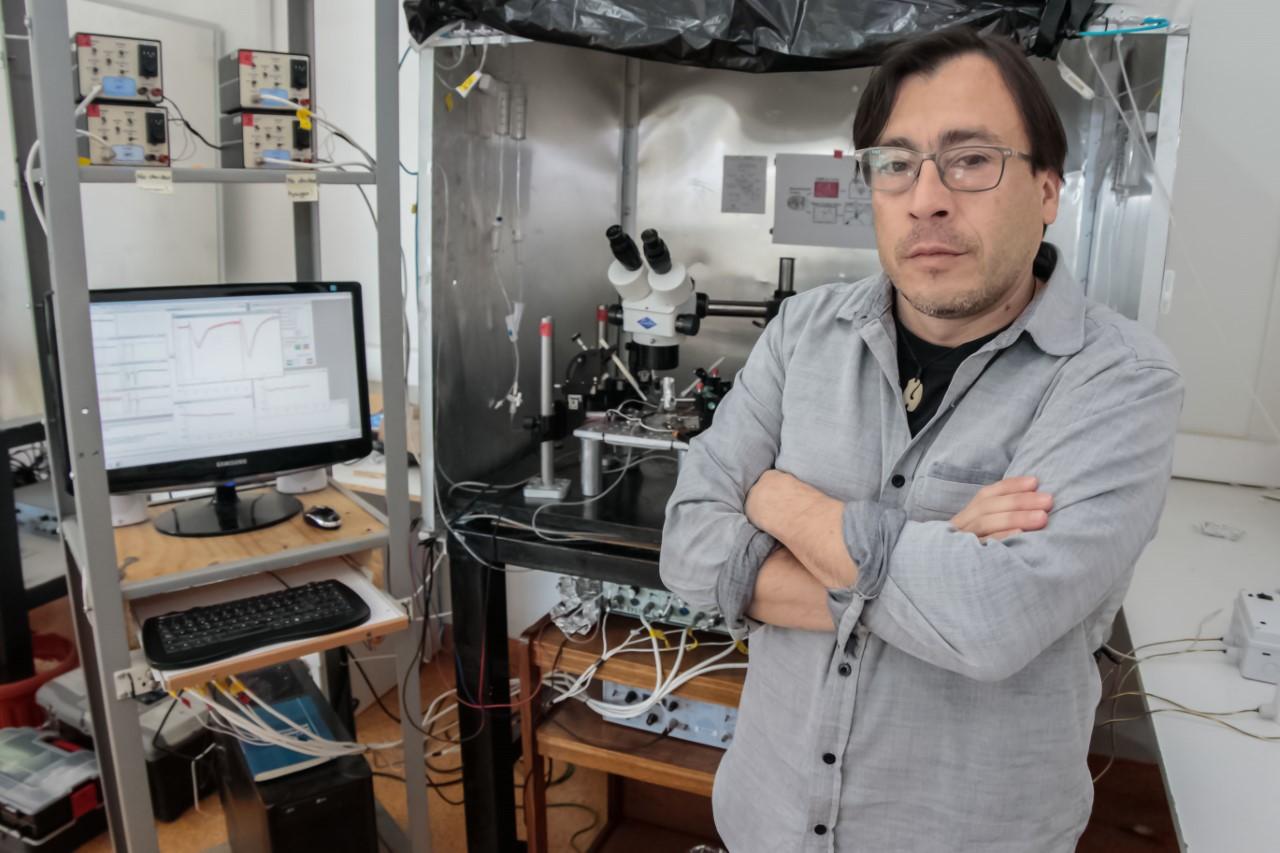 El doctor en Neurociencias Pablo Muñoz