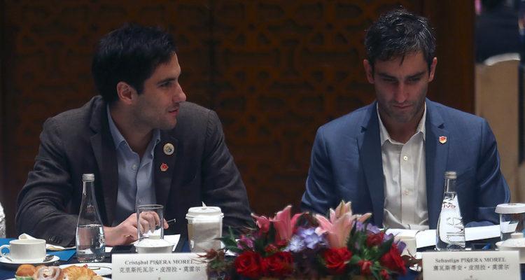 Cristóbal y Sebastián Piñera Morel   Agencia UNO