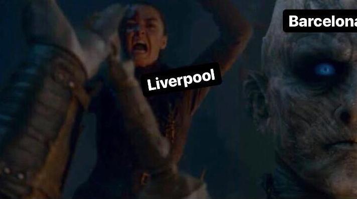 Se ensañaron contra Messi los memes que dejó la traumática caída del Barcelona ante Liverpool