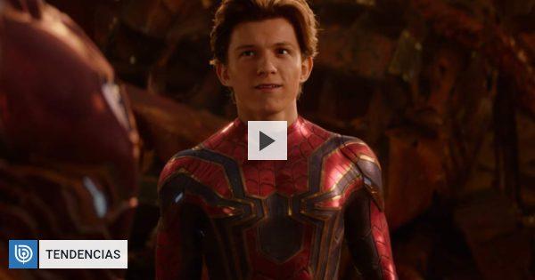 """Tom Holland No Lucía Triste En El Funeral En """"Avengers"""