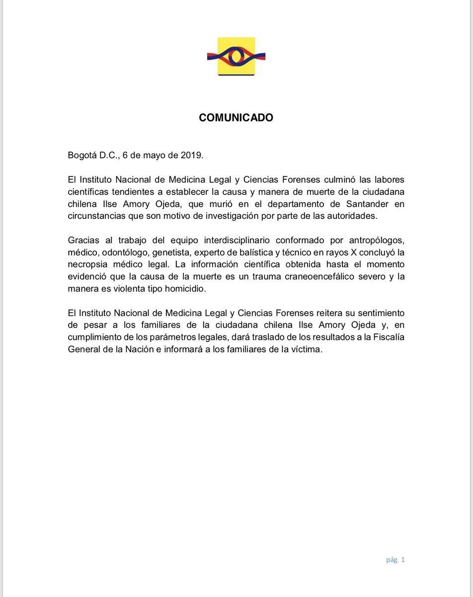 Instituto Nacional de Medicina Legal y Ciencias Forenses de Colombia