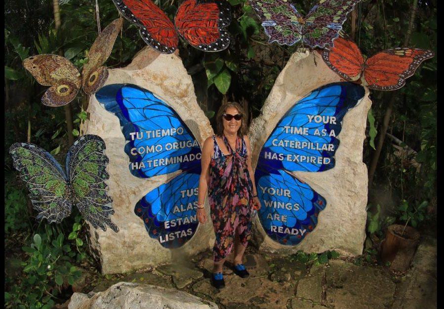 Inés Contreras en Cancún | Cedida a Radio Bío Bío