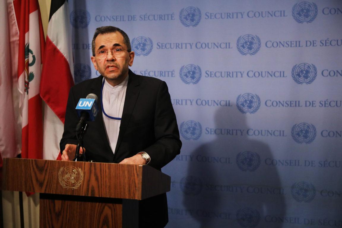 Embajador de Irán ante la ONU | Agence France-Presse