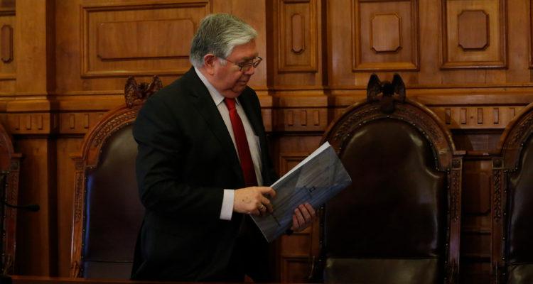 Vocero de la Corte Suprema Lamberto Cisternas | Sebastian Brogca | Agencia Uno
