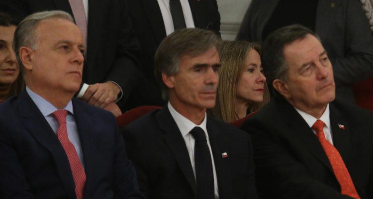 Ministros salientes | Rodrigo Saenz | Agencia Uno