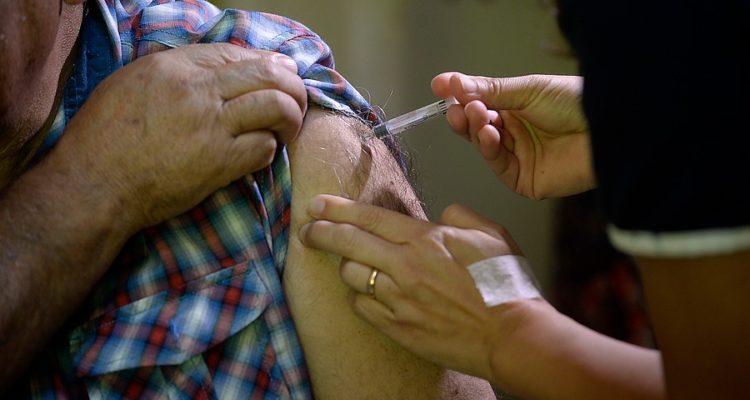 Campaña de Vacunación contra la Influenza   Pablo Ovalle   Agencia Uno