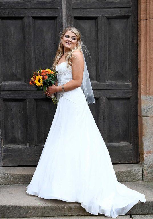Sophie Matheson en su boda | Daily Mail
