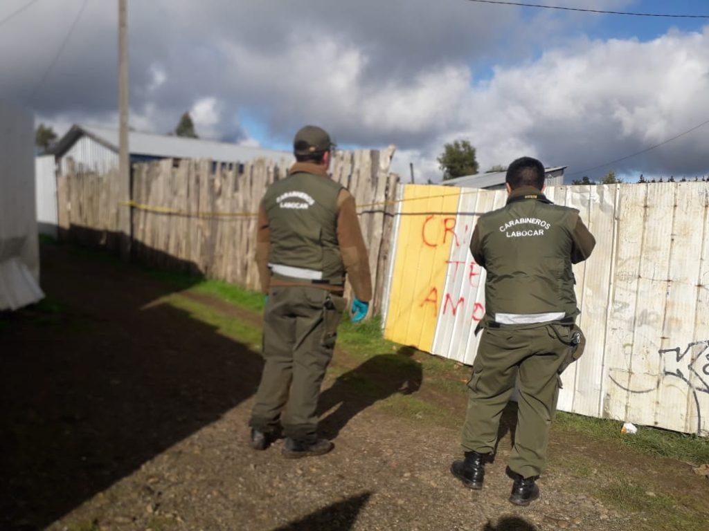 Lugar donde ocurrió el homicidio | Cedida a Radio Bío Bío
