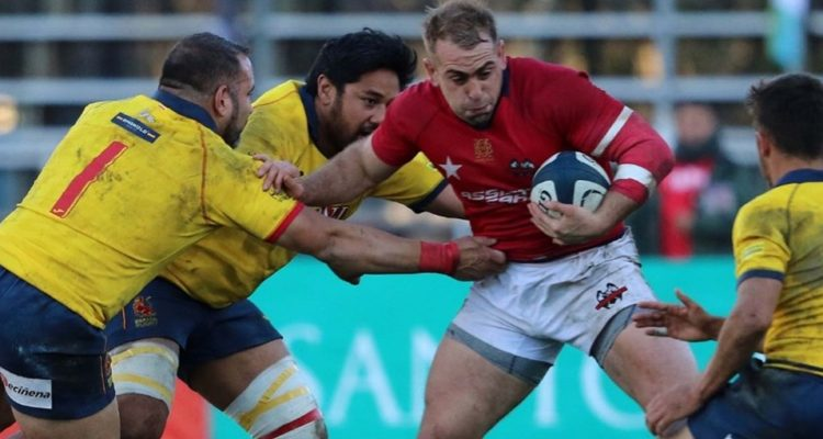 Selección chilena de rugby XV cayó ante su similar de España en test match disputado en Curicó